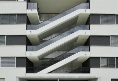 Vorfabrizierte Treppenelemente
