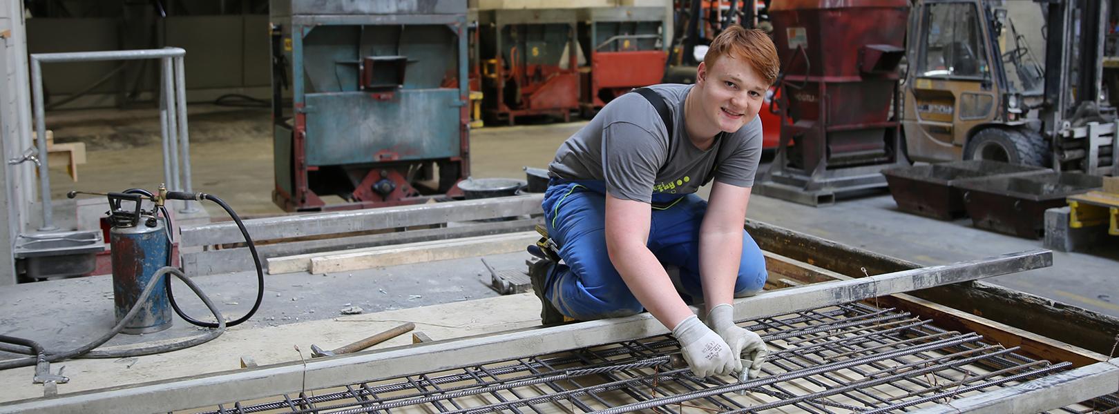 Lernender Betonwerker / Betonwerkerin